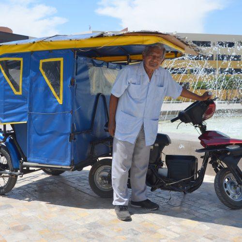 BUSCAN INVERSIÓN PARA PERFECCIONAR Y FABRICAR MOTOTAXI SOLAR CREADA EN SAN MARCOS