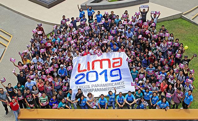 """Siguen inscripciones Voluntarios """"Lima 2019"""""""