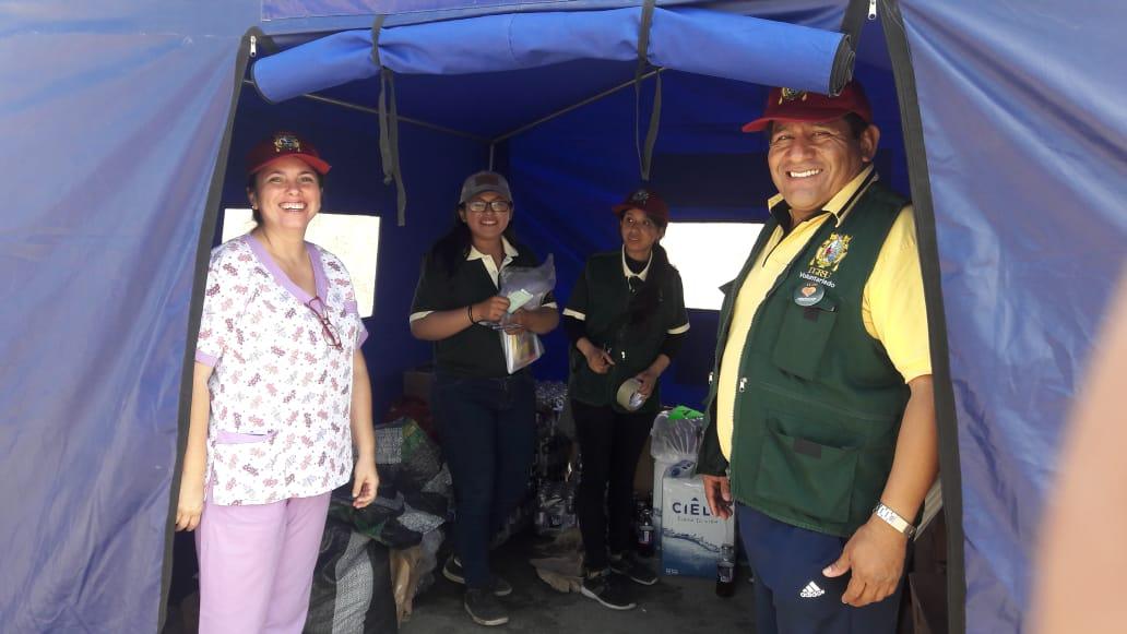 Exitosa Campaña de Responsabilidad Social Sanmarquina, en Pachacutec, Ventanilla.