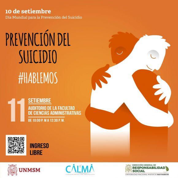 Prevención del suicidio, #Hablemos