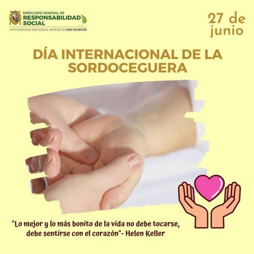 Día Internacional de la Sordoceguera