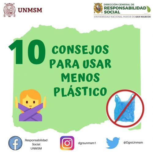 10 Consejos para usar menos plástico