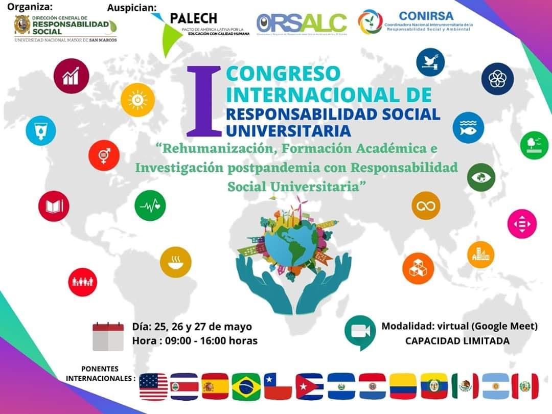 Rehumanización, Formación Académica e Investigación pospandemia con Responsabilidad Social Universitaria