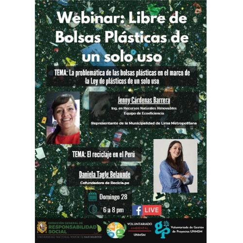 """Voluntariado Ambiental: """"Libre de plástico"""""""