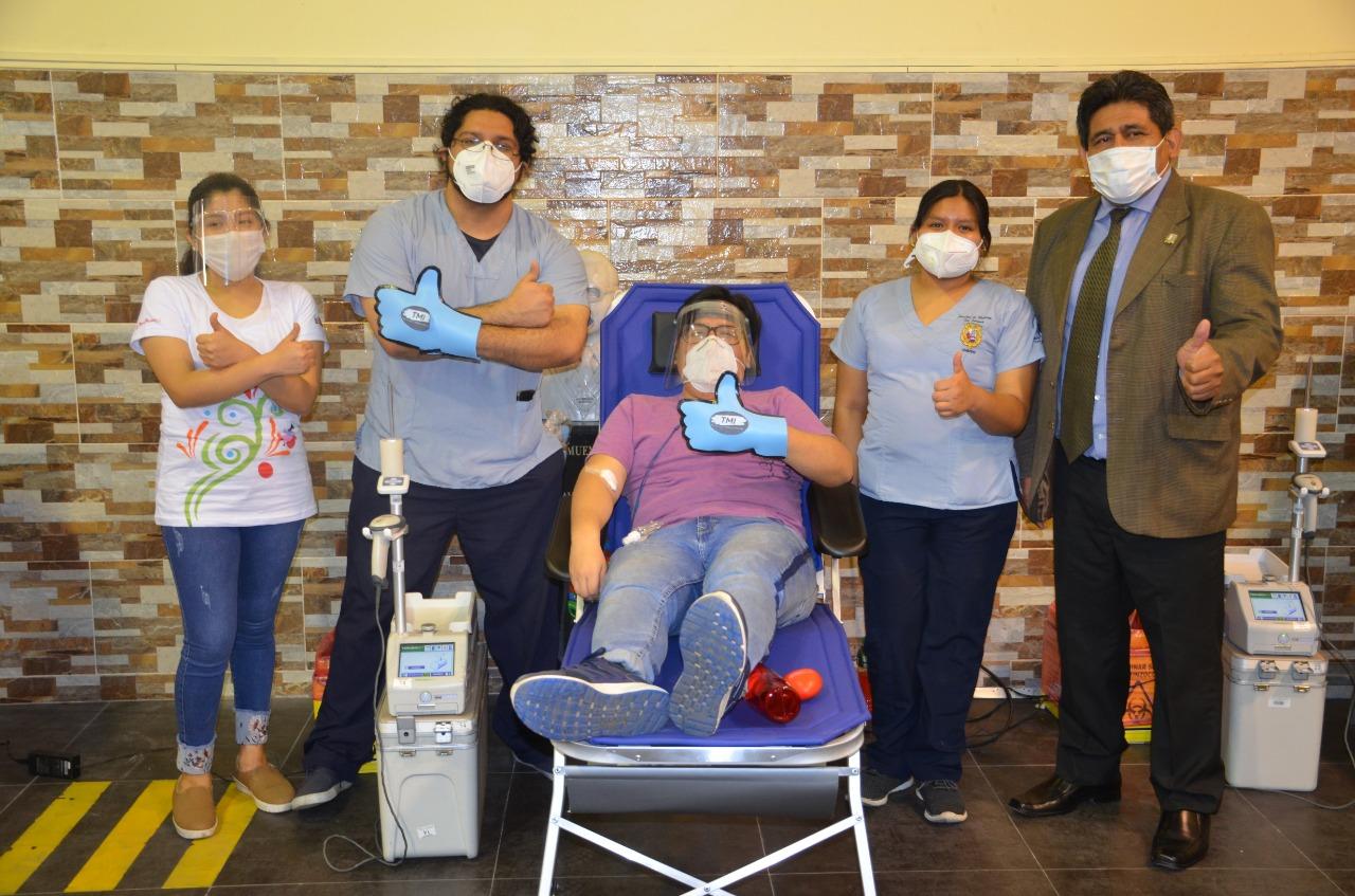 ¡Salvemos vidas! Decenas de voluntarios participaron en campaña de donación de sangre