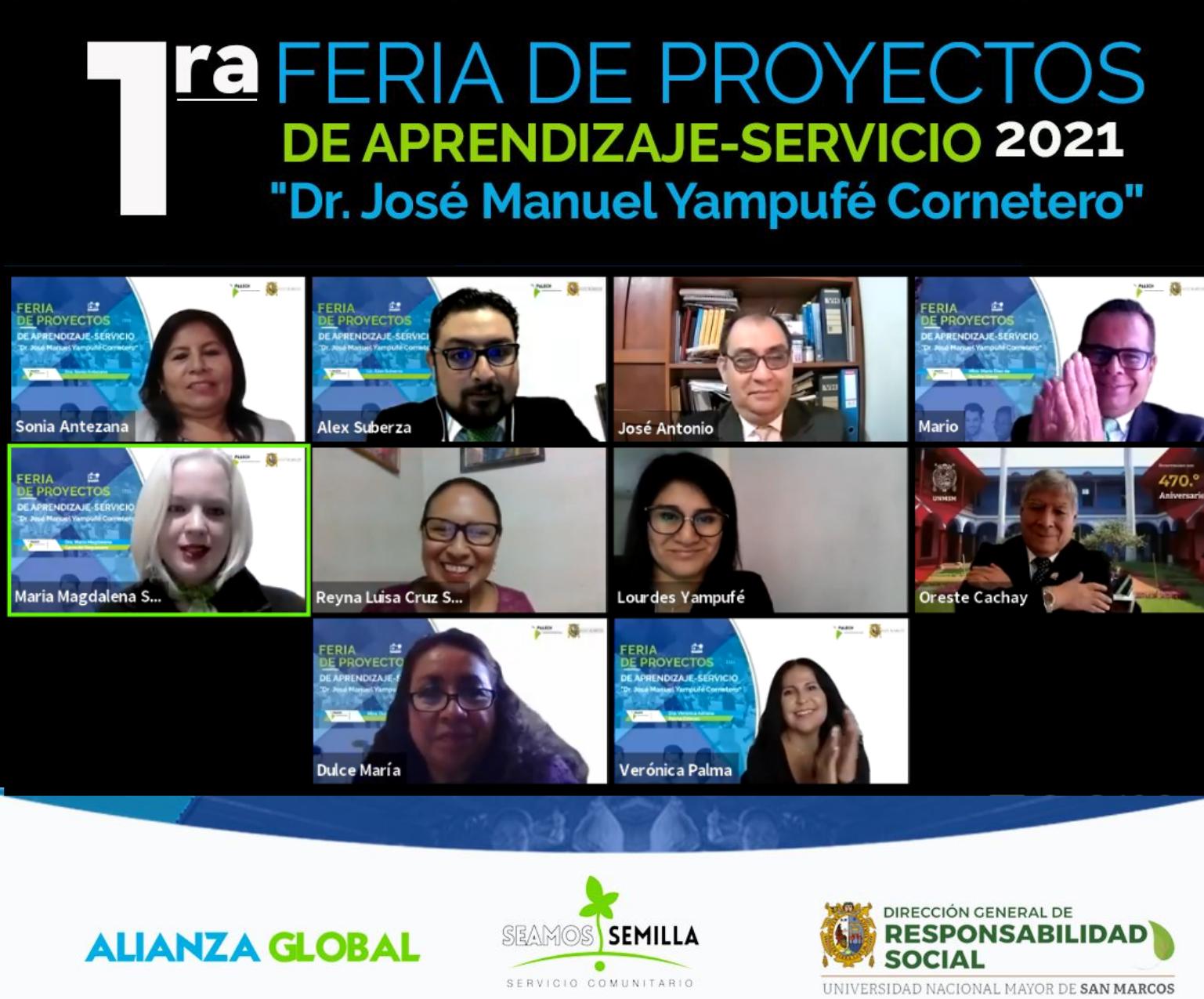 San Marcos y Palech Internacional realizaron Feria de Proyectos de Aprendizaje – Servicio 2021